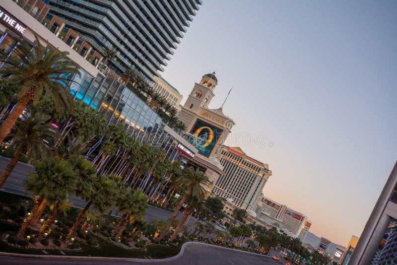 Las Vegas Blvd lizenzfreie stockbilder