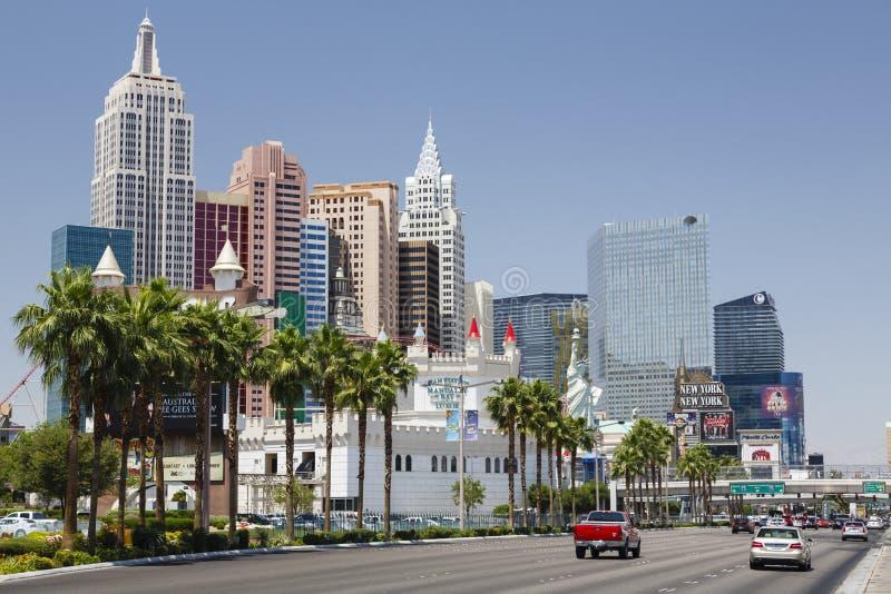 Las Vegas Boulevard photographie stock