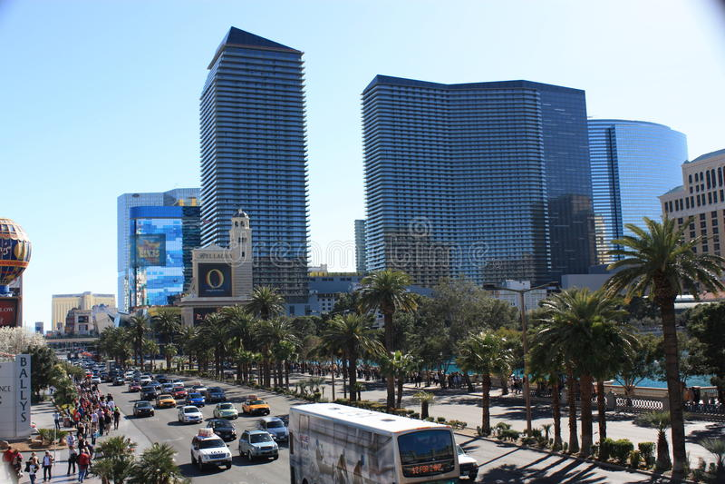 Las Vegas Boulevard fotos de stock