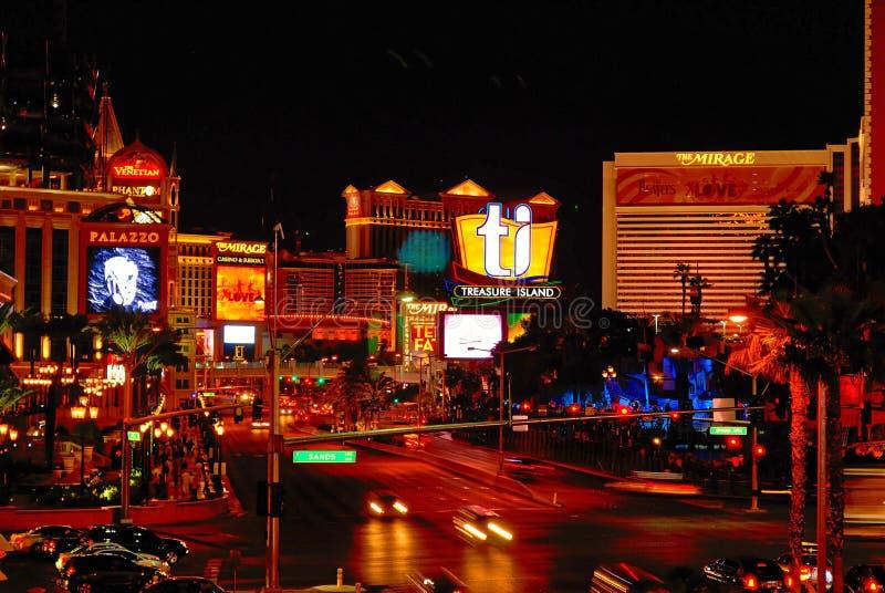 Las Vegas Boulevard imagen de archivo libre de regalías