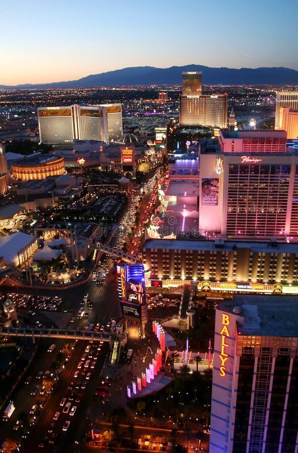 Las Vegas Boulevarde Las Vegas Nevada fotografía de archivo