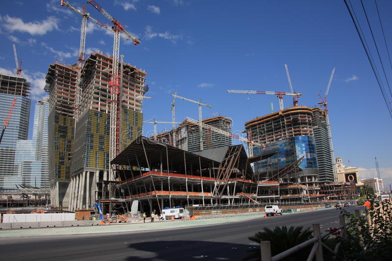 Las Vegas - Bouw royalty-vrije stock foto
