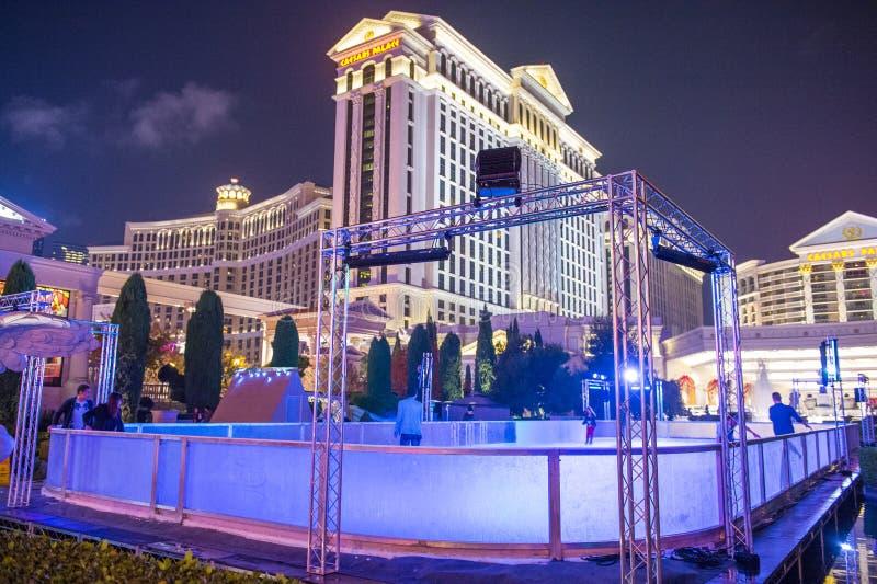 Las Vegas, Caesars immagine stock libera da diritti
