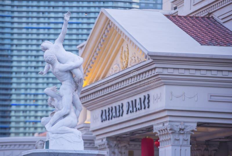 Las Vegas; Caesars imagen de archivo libre de regalías