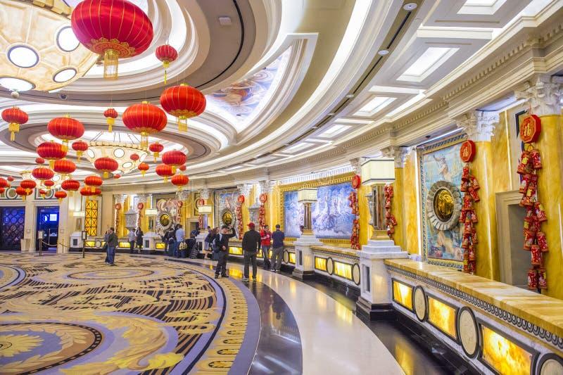 Las Vegas, Ceasars pałac zdjęcia stock