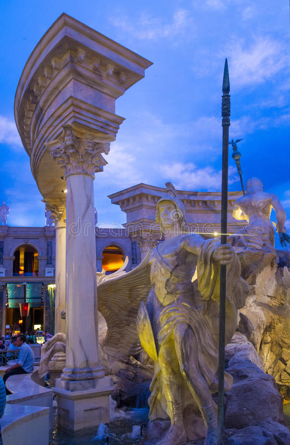 Download Las Vegas , Ceasars Palace editorial stock photo. Image of boulevard - 42173698