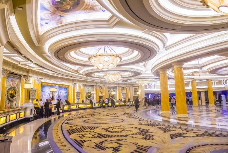Las Vegas Ceasars slott arkivbilder