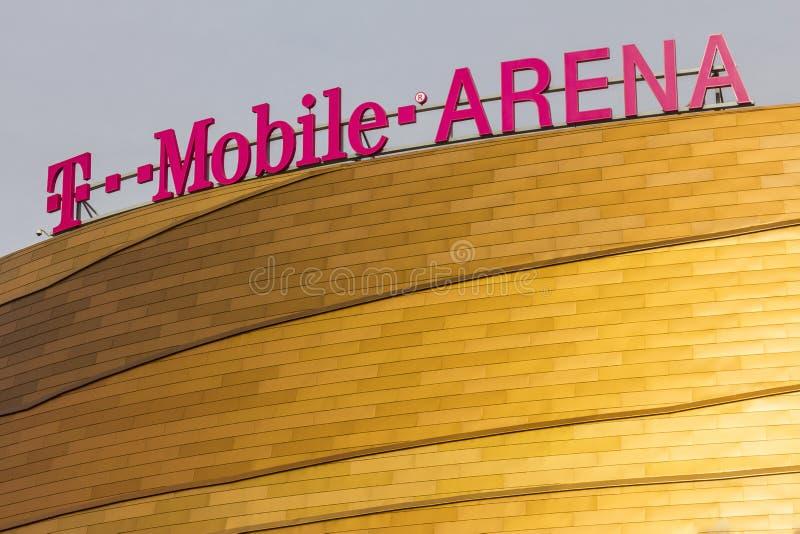 Las Vegas - circa im Dezember 2016: Die T-Mobile-Arena gelegen auf dem Streifen I stockfotos