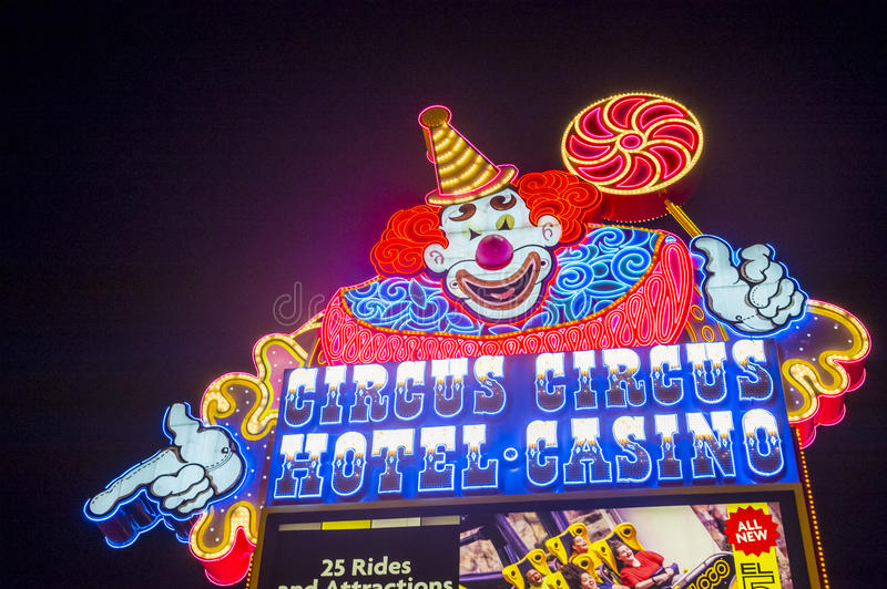 Las Vegas , Circus Circus stock photo