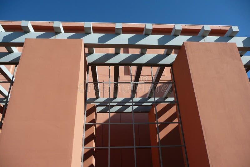 Las Vegas, Clark okręgu administracyjnego biblioteka publiczna - zdjęcie stock
