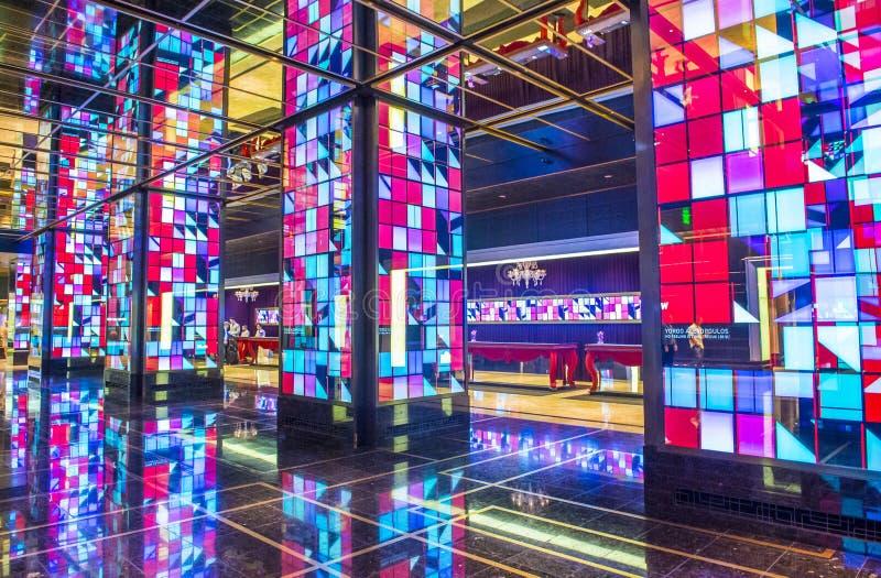 Las Vegas, cosmopolita imagen de archivo libre de regalías