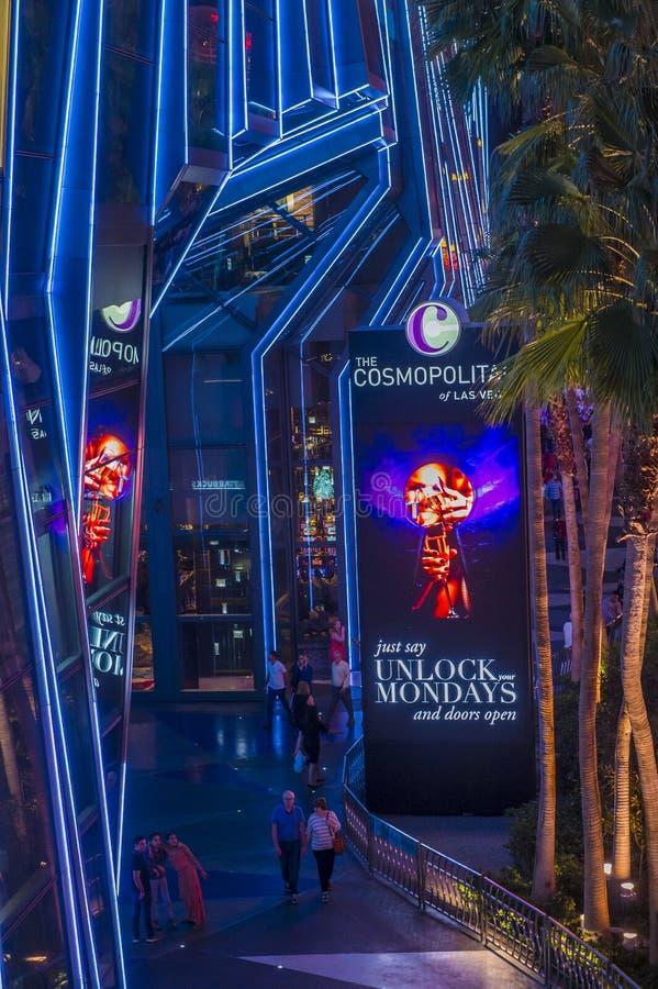 Las Vegas, cosmopolita foto de archivo libre de regalías