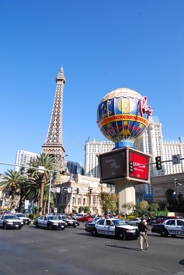 Las Vegas in dagtijd royalty-vrije stock foto