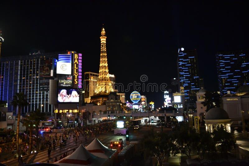 Las Vegas Eiffel tower stock images
