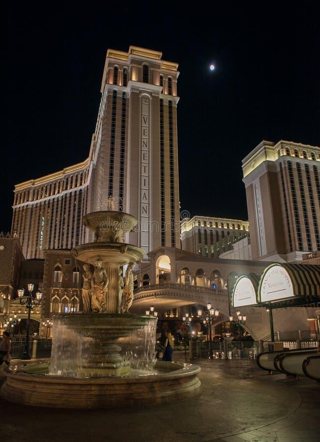 Las Vegas em a noite fotos de stock