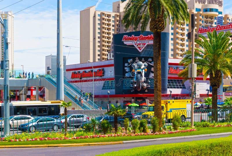 Las Vegas, Etats-Unis - 5 mai 2016 : Café de Harley Davidson image stock