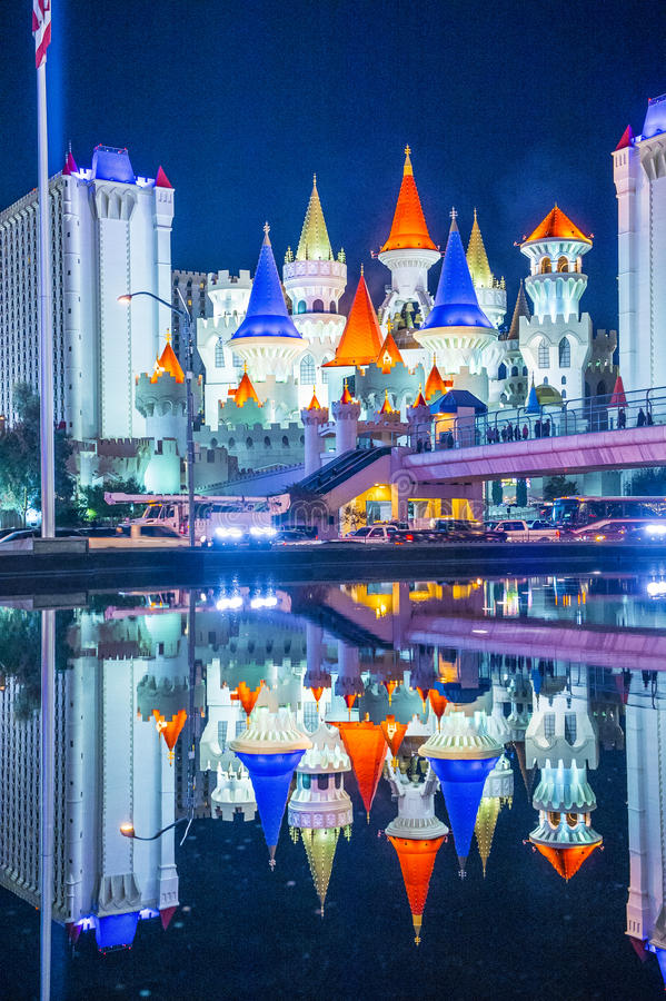 Las Vegas, Excalibur royalty-vrije stock afbeeldingen