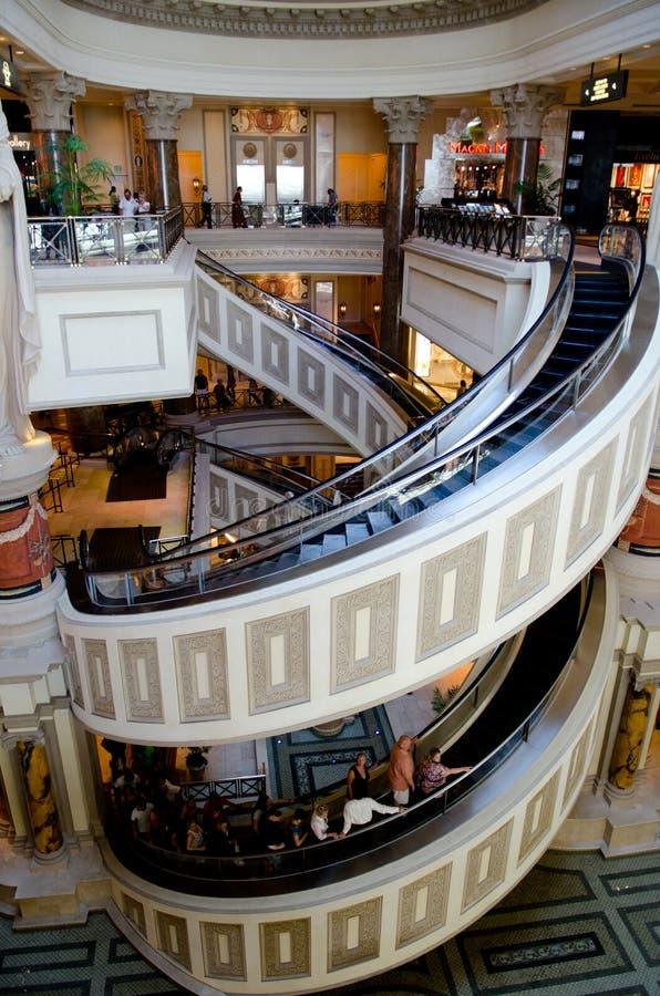 Las Vegas Forum Shop royalty free stock photos