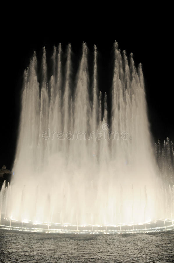 Download Las Vegas Fountains I stock photo. Image of fountains - 27702356