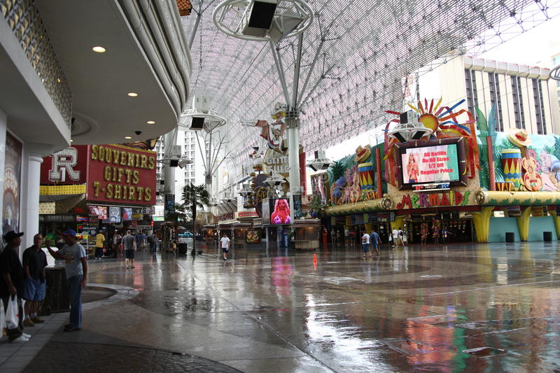 Download Las Vegas - Fremont Street Experience Editorial Photography - Image: 24763417