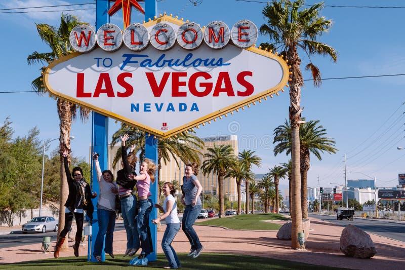 Las Vegas-Freude lizenzfreies stockbild