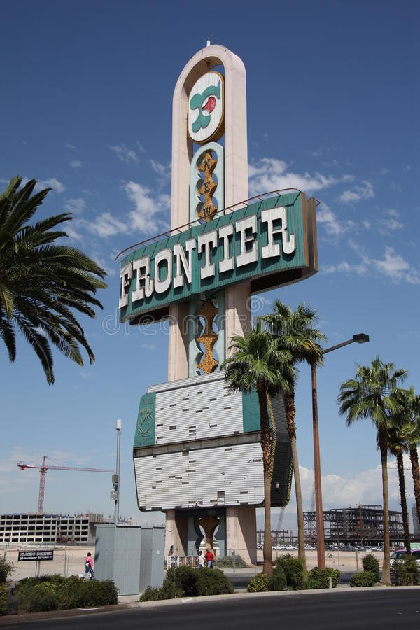 Free Las Vegas - Frontier Hotel Marquee Royalty Free Stock Images - 11938669