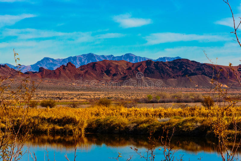 Las Vegas góry & bagna fotografia stock