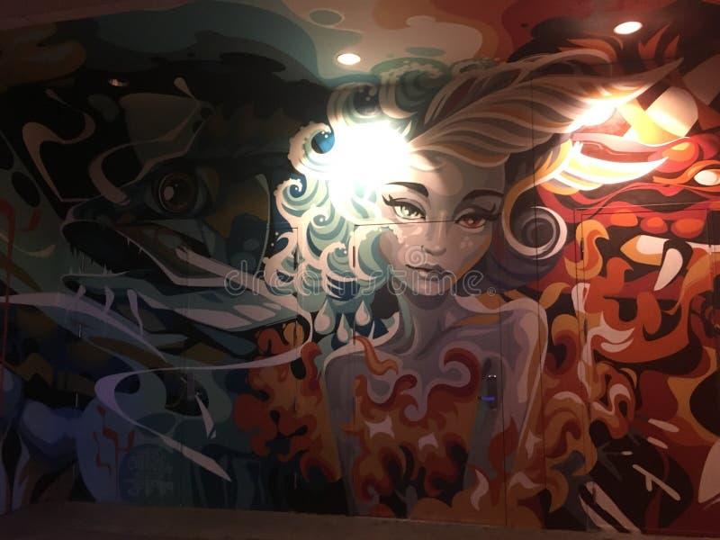 Las Vegas graffiti zdjęcia stock
