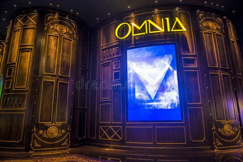 Las Vegas, Hakkasan-Nachtclub stock foto