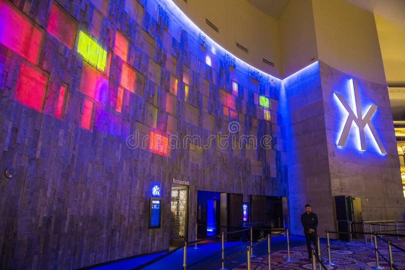 Las Vegas Hakkasan nattklubb royaltyfria foton
