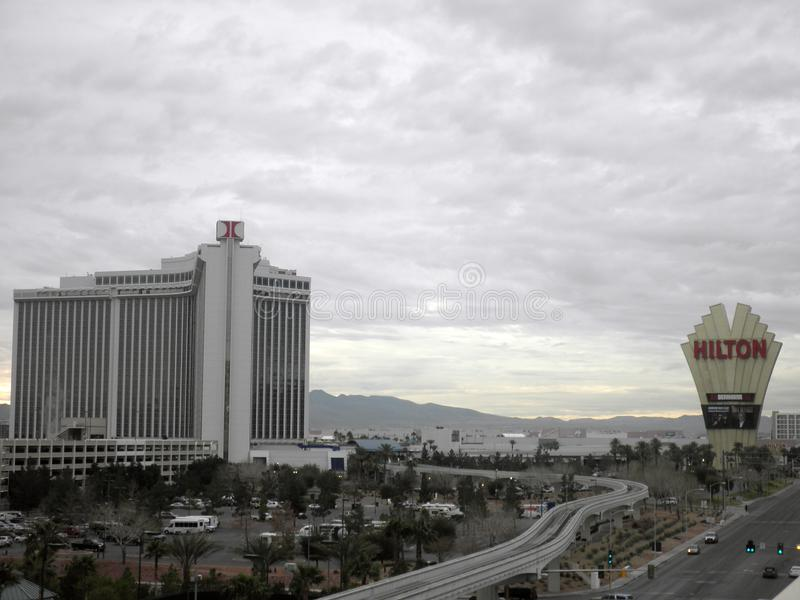 Las Vegas Hilton royalty free stock image