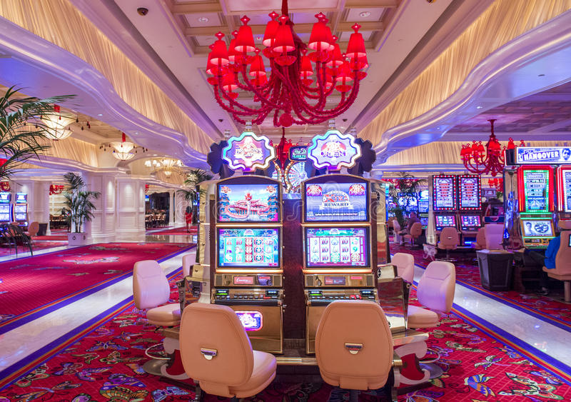Las Vegas, hotel de la repetición foto de archivo