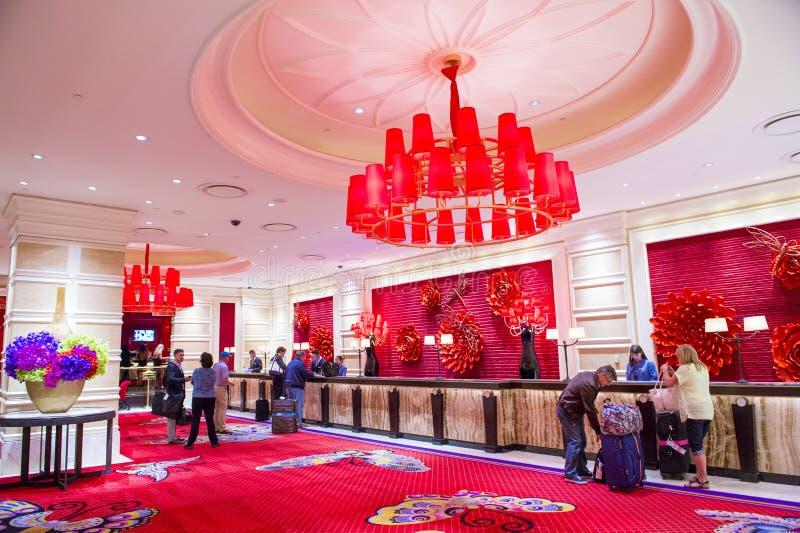 Las Vegas, hotel de la repetición imágenes de archivo libres de regalías