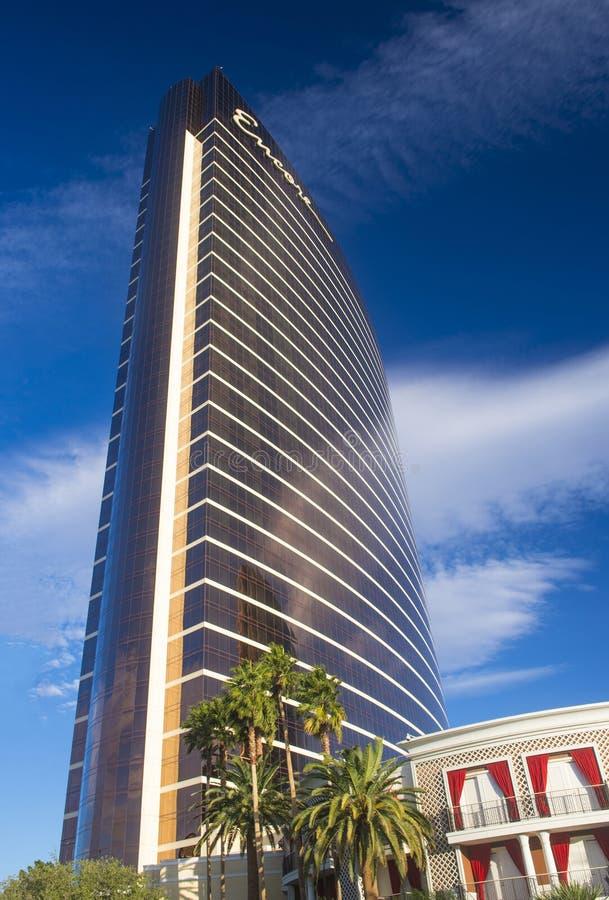 Las Vegas, hotel di bis immagine stock libera da diritti
