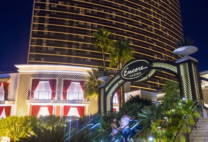 Las Vegas, hotel di bis fotografie stock