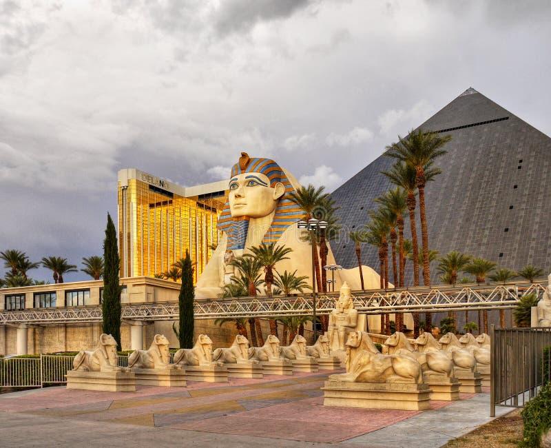 Las Vegas, hotel di Luxor - del Nevada e casinò immagini stock libere da diritti