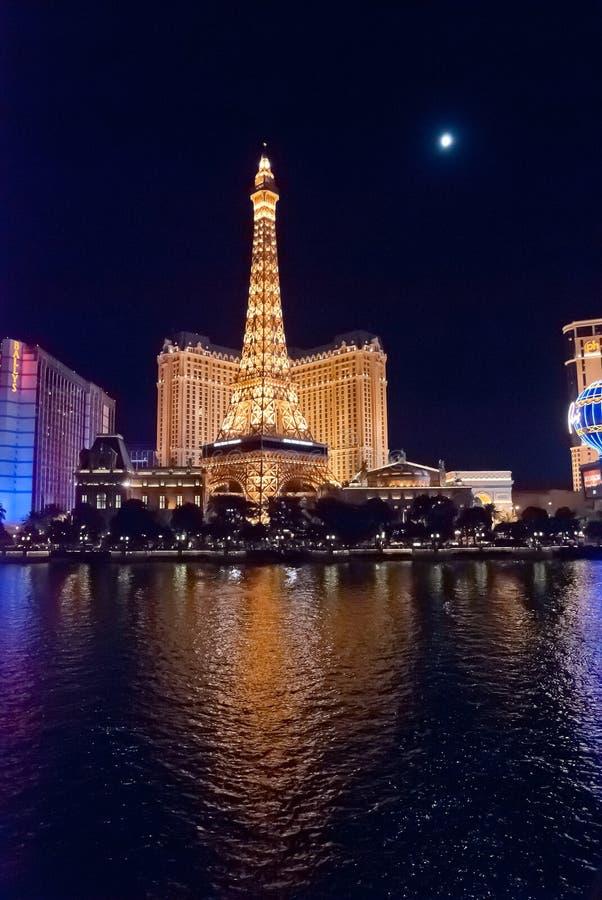 Las Vegas, hotel di Parigi - di U.S.A. e casinò fotografie stock libere da diritti