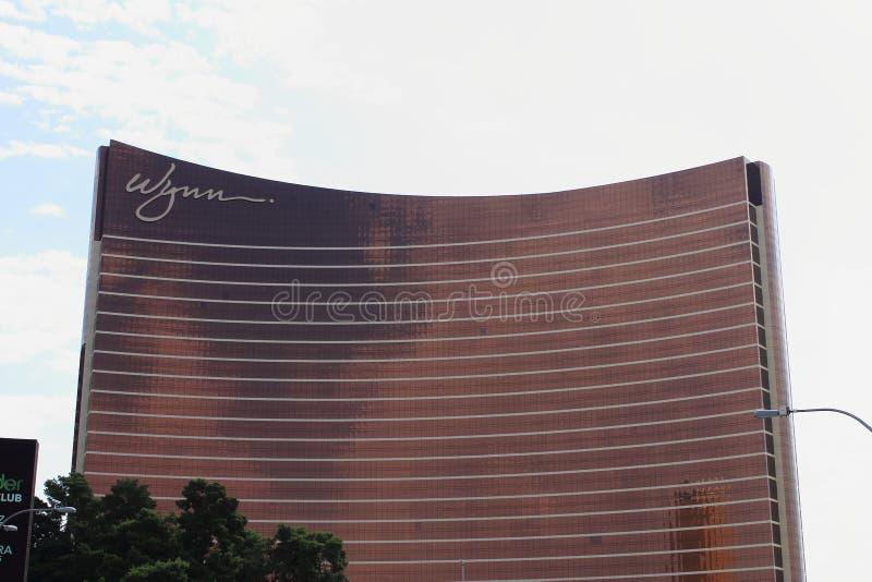 Las Vegas - hotel e casinò di Wynn fotografia stock libera da diritti