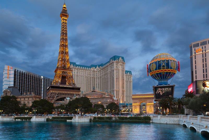 Download Las Vegas, Hotel Paris. editorial stock image. Image of light - 23333559