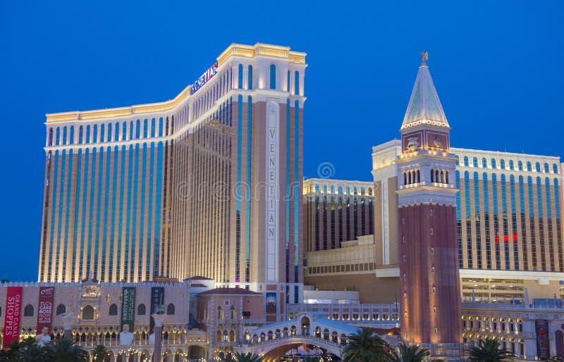 Las Vegas, hotel veneciano foto de archivo