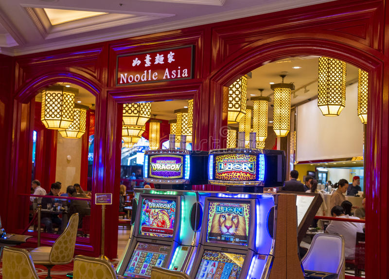 Las Vegas, hotel veneciano foto de archivo libre de regalías