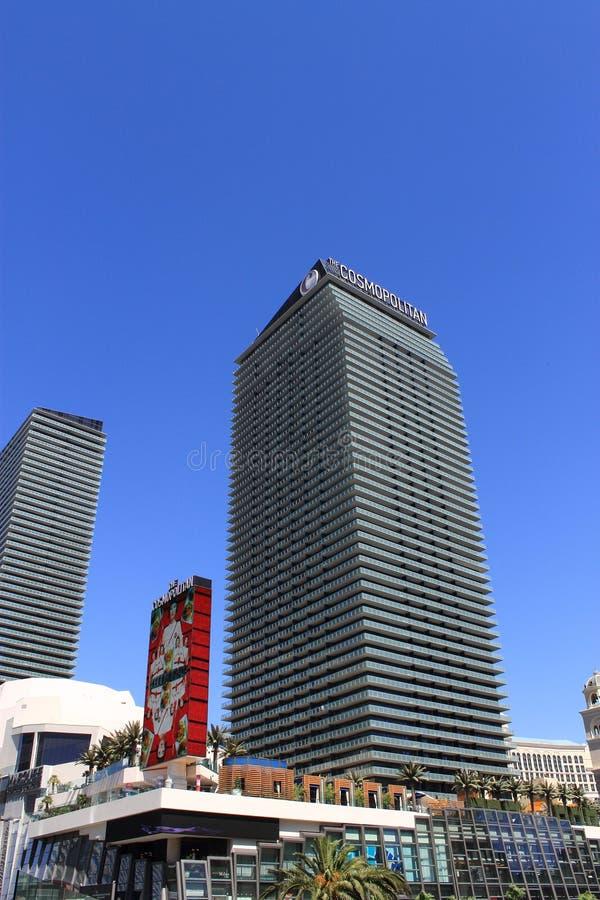 Las Vegas - hotel y casino cosmopolitas imágenes de archivo libres de regalías