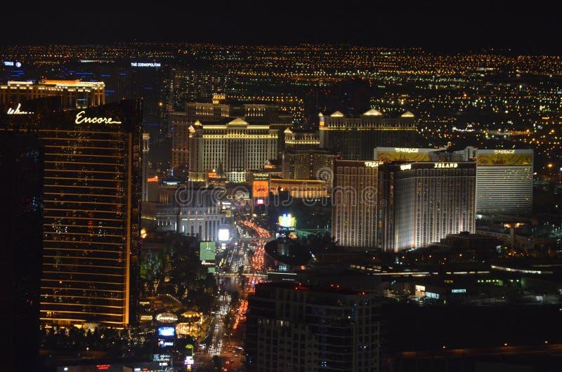 Las Vegas, Las Vegas, hotel y casino, la zona veneciana, metropolitana, horizonte, metrópoli, rascacielos de Bellagio fotografía de archivo libre de regalías
