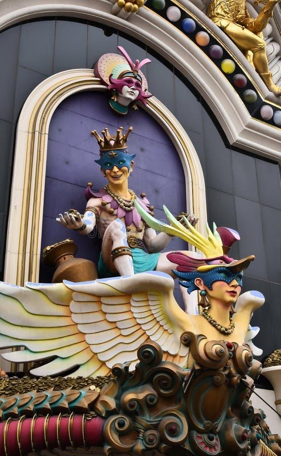 Las Vegas kasino har överdådiga tillträden royaltyfria foton