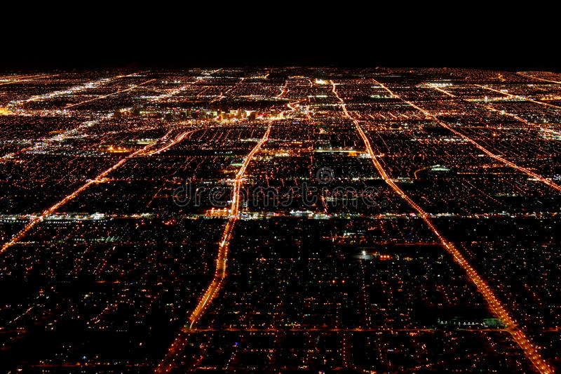 Las Vegas koszt stały widok fotografia royalty free