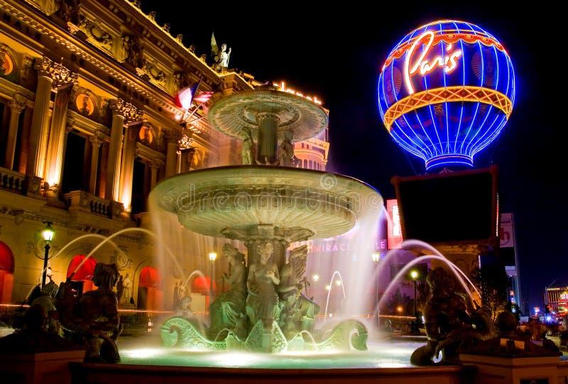 Las Vegas la nuit image stock