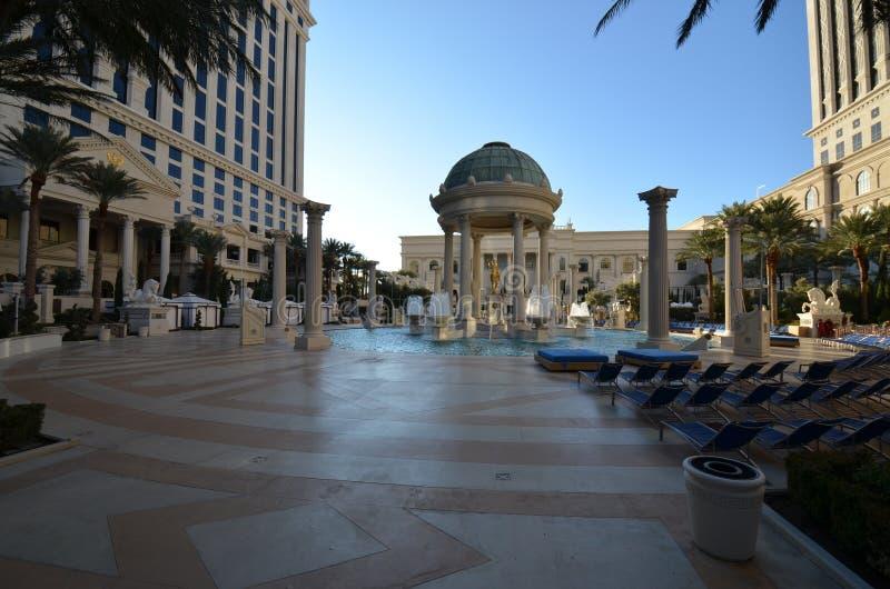Las Vegas, landmark, town square, plaza, building. Las Vegas is landmark, building and sky. That marvel has town square, downtown and tree and that beauty royalty free stock photography