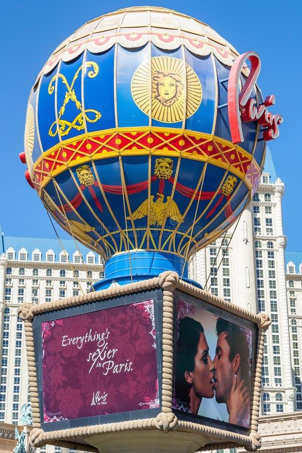LAS VEGAS - 14 Las Vegas MAJA 2008 Paryski hotel zdjęcie royalty free