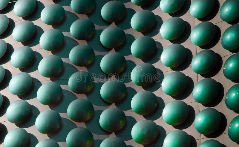LAS VEGAS, los E.E.U.U. - 28 de junio de 2012: Detalle de la fachada del plan fotografía de archivo libre de regalías