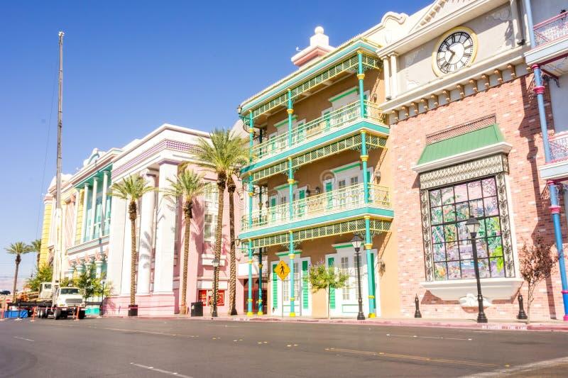 Las Vegas, los E.E.U.U. - 1 de octubre de 2012: El hotel de Orleans imagen de archivo